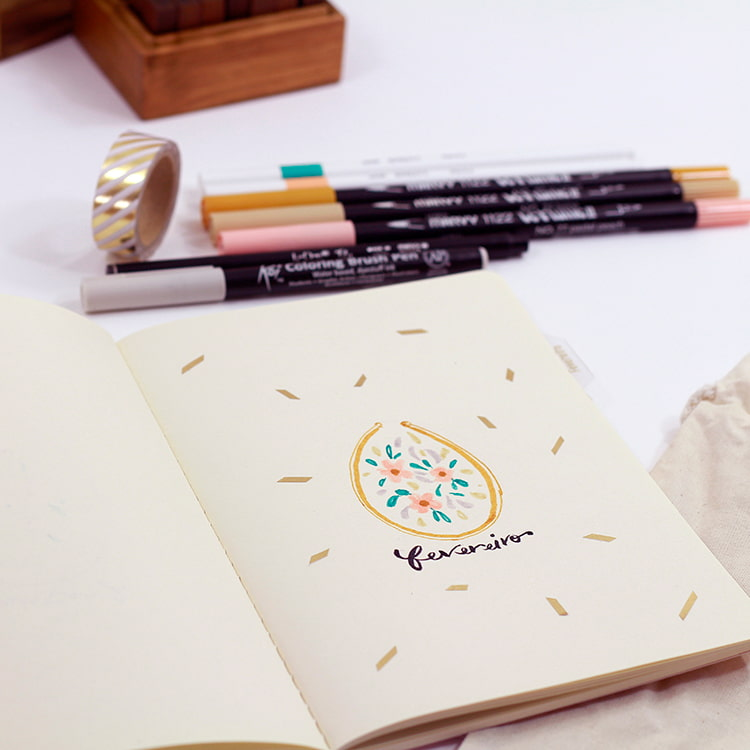 decorando bullet journal