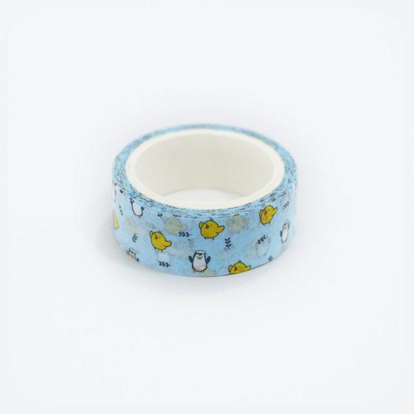 Washi tape - Penguin and Little Bird