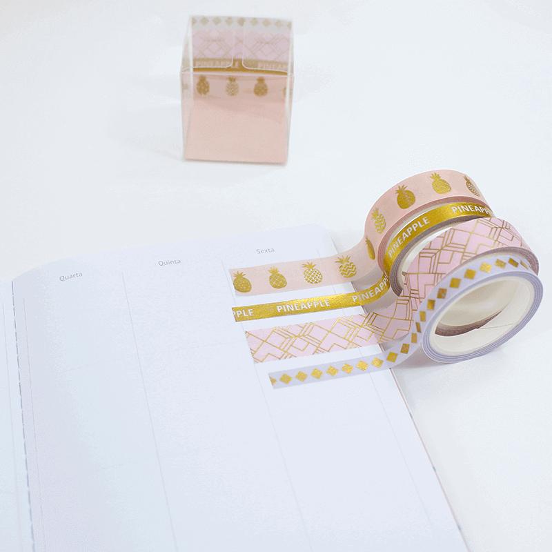 Kit 4 Washi tapes - Hawaii