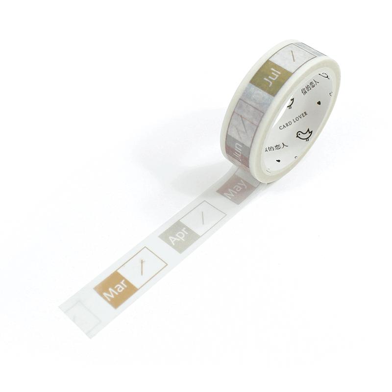 Washi tape - Meses