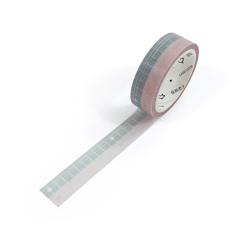 Washi tape - Ruler