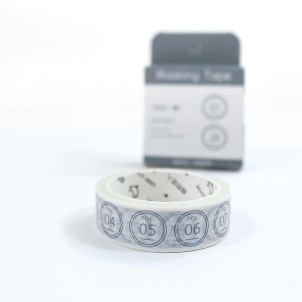 Washi tape - Numbers